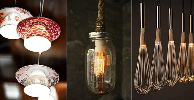 10 idee per lampade fai da te