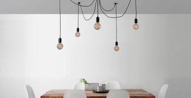 Sputnik lampadario moderno lusso lampada a sospensione 12 luci base e27 soggiorno camera da letto loft cucina e disimpegno (nessuna lampadina). La Scelta Di Un Lampadario Moderno Per Ogni Zona Della Casa