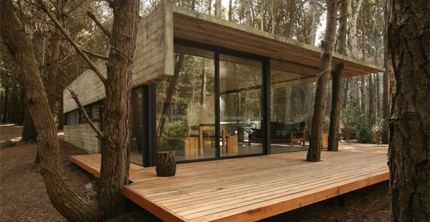 Una casa nel bosco a Mar Azul