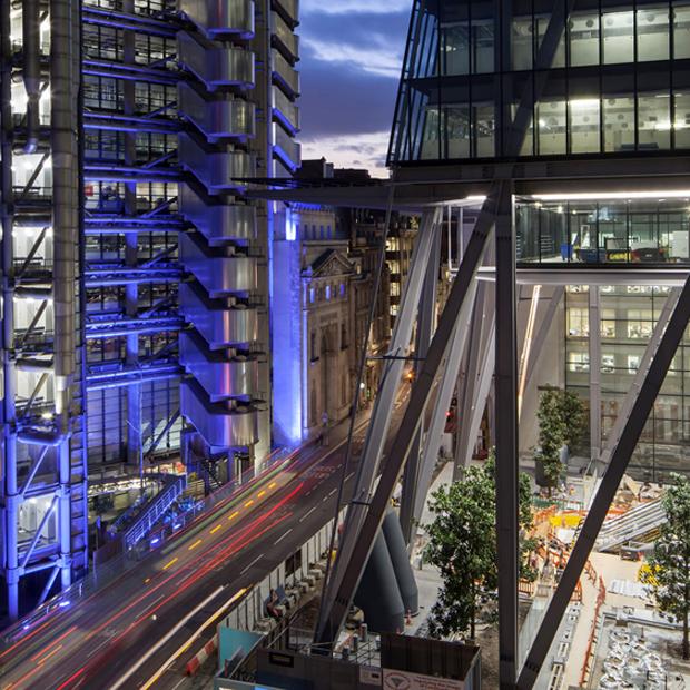 Lloyds e Leadenhall building a Londra Richard Rogers 20