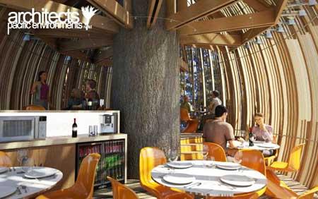 Interni Yellow Treehouse