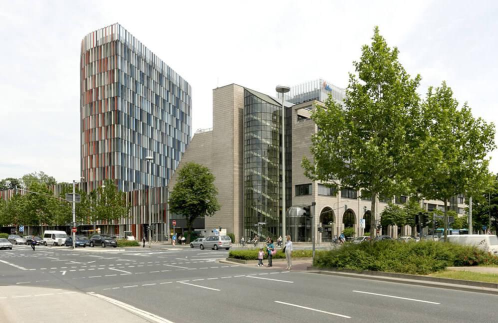 KfW Westarkade, Frankfurt, Germany, Sauerbruch Hutton