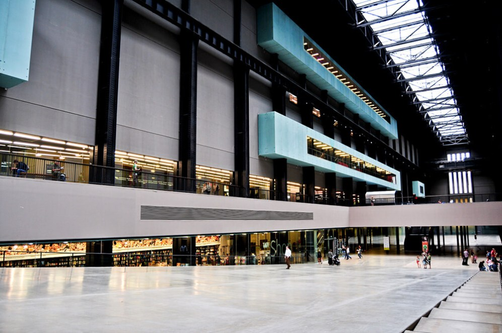 The Tate Modern, London, UK, Herzog & de Meuron