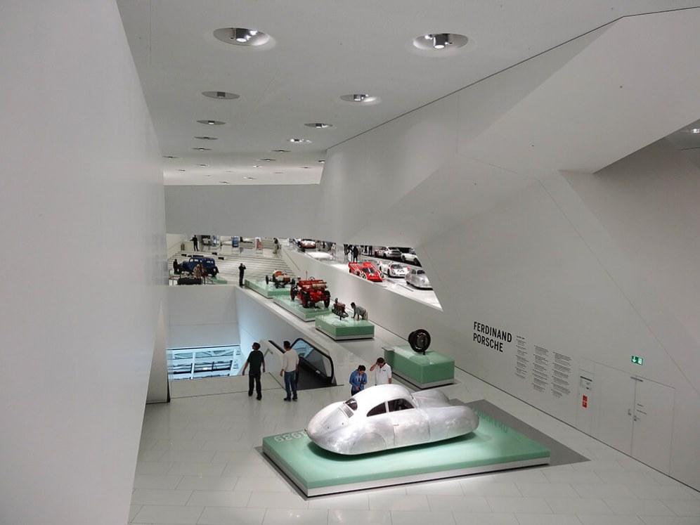 Porsche Museum, Stuttgart, Germany, Delugan Meissl Associated Architects