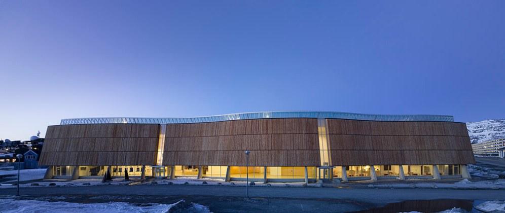Katuaq Cultural Centre, Nuuk, Greenland, Schmidt Hammer Lassen Architects