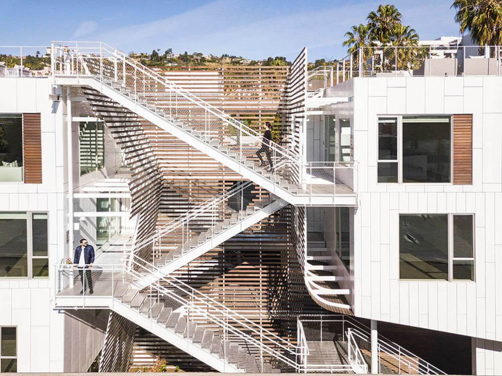 San Vicente935 Housing, West Hollywood-California, United States, Lorcan O'Herlihy Architects (LOHA)