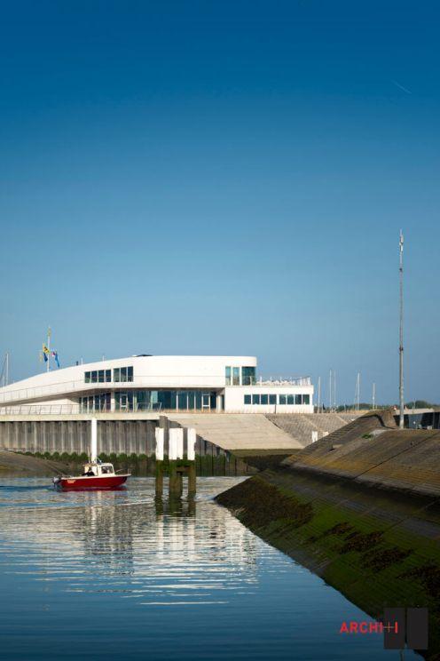 Clubhouse VVW Blankenberge, Blankenberge, Belgium, B2Ai