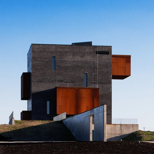 Kemenes Volcanopark Visitor Center, Celldömölk, Hungary, Földes Architects