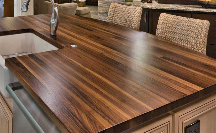 wood kitchen counters island and table 10 hidden benefits of countertops an edge grain is what most us picture in our minds when we think butcher block the edges strip are rotated up