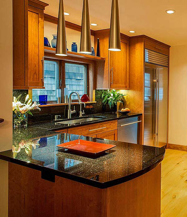 granite kitchen how to build a island 10 delightful countertop colors with names and pictures stain grade oak cabinets black galaxy counters