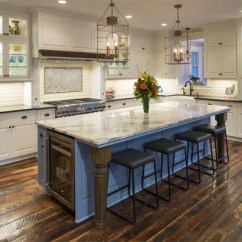 Inexpensive Countertops For Kitchens Kitchen Pendants How To Save A Bundle On The Cost Of Granite This Island Is In Perfect Contrast With Rest