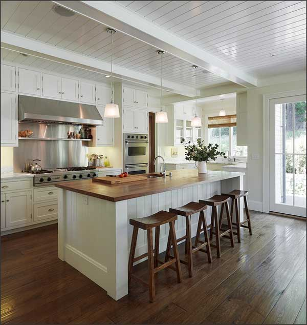 kitchen loans wall what is the best way to finance a remodel this touch of beadboard and butcher block fairly inexpensive have big