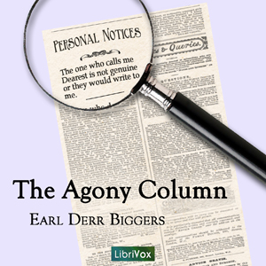 Agony column cover
