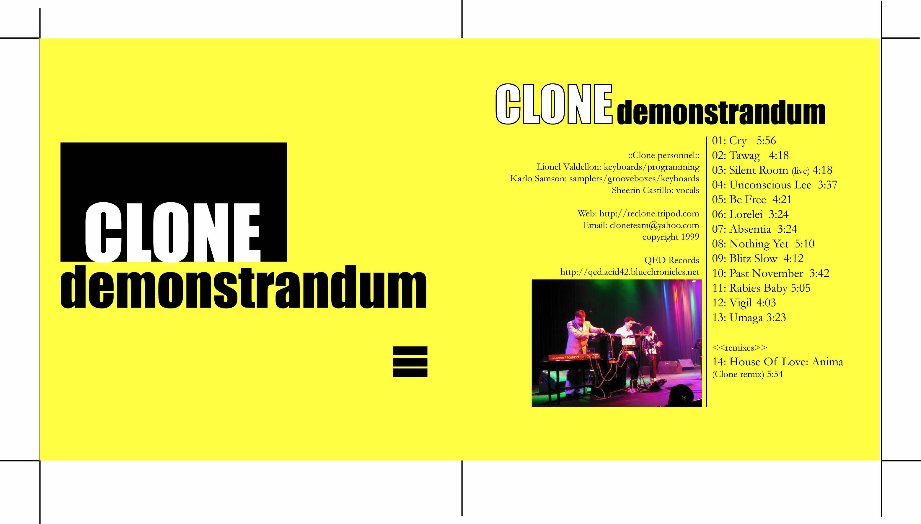 (qd-4200) Clone: Demonstrandum