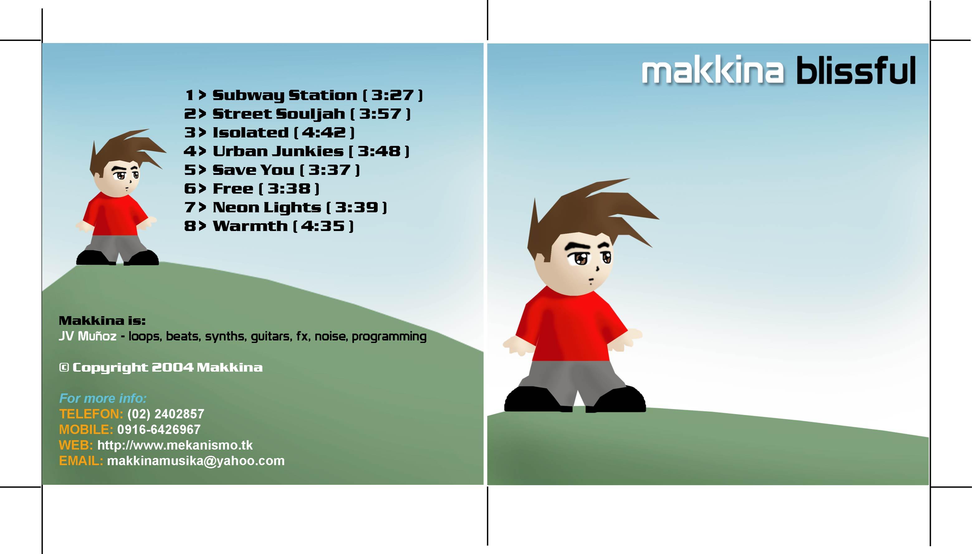 (qd-4214) Makkina - Blissful