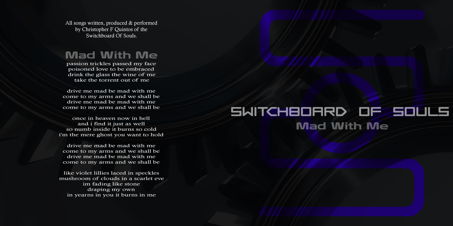 qd-4251 Switchboard of Souls -Mad with Me