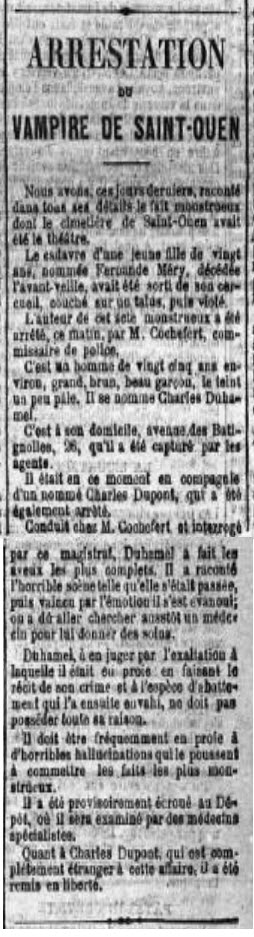 Vampire de Saint-Ouen