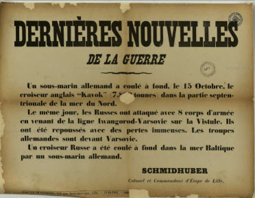 guerre 1914 1918 Lille