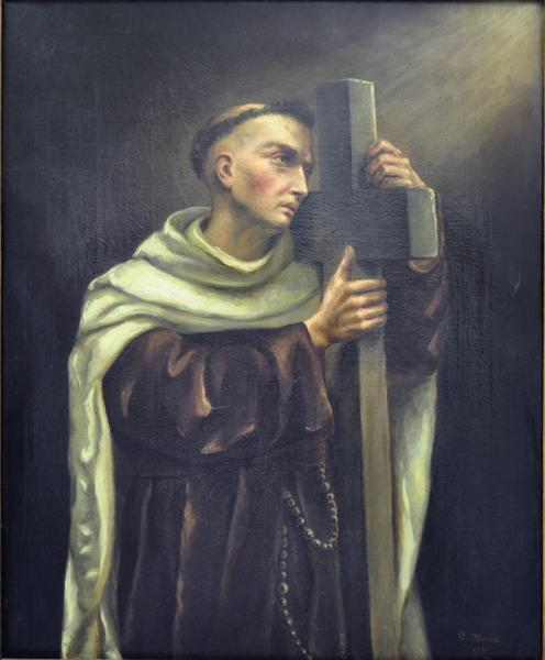 Painting by Celine Martin : St John of the Cross