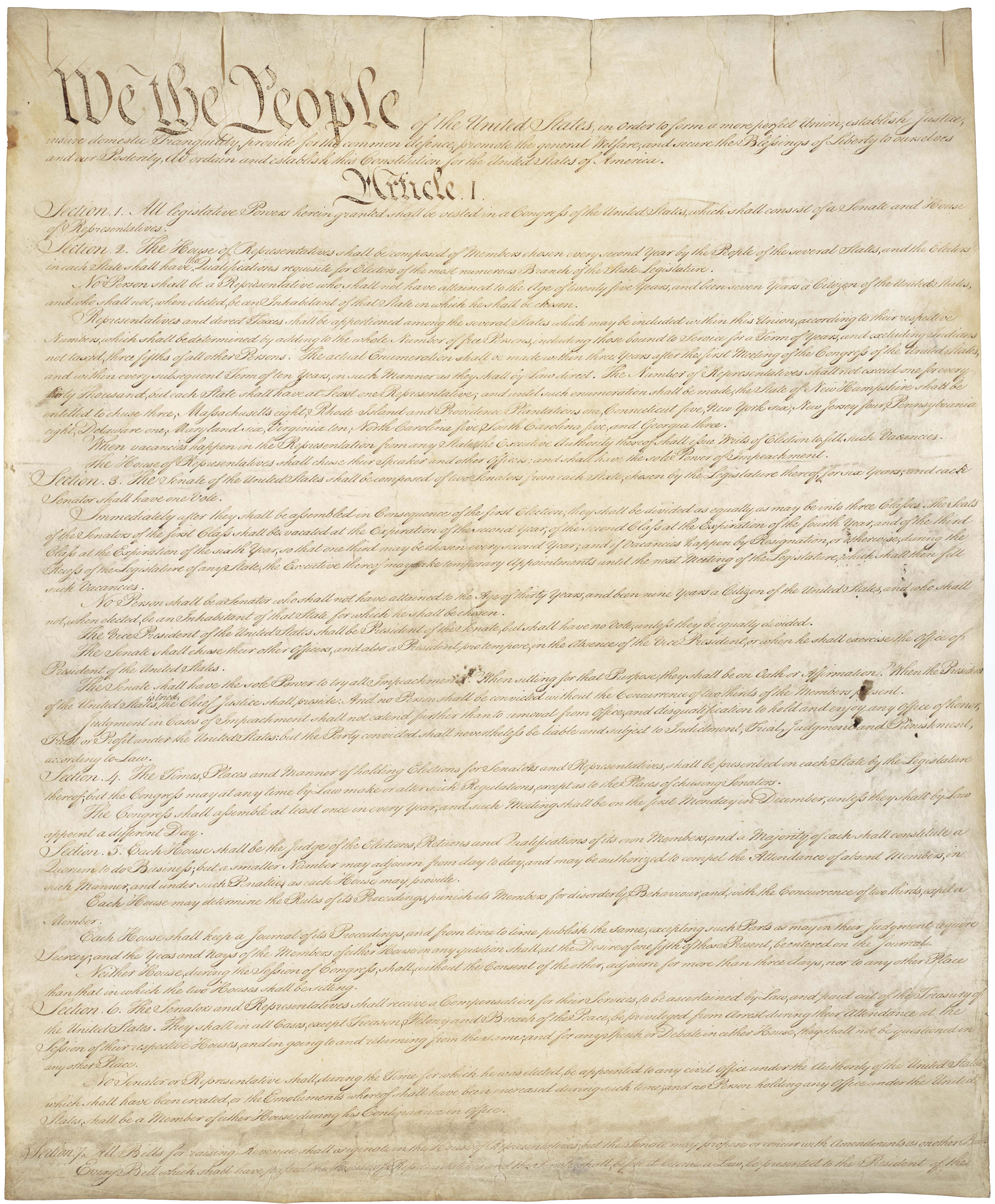Teaching Six Big Ideas In The Constitution