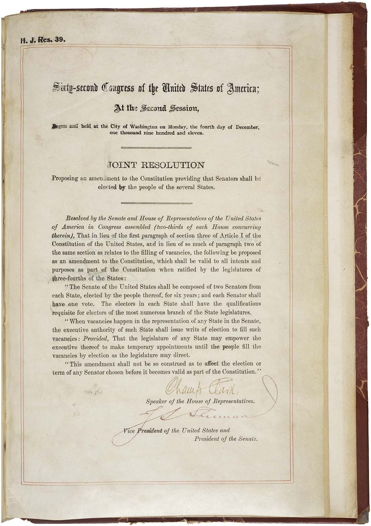 Errors In The Constitution Typographical And Congressional