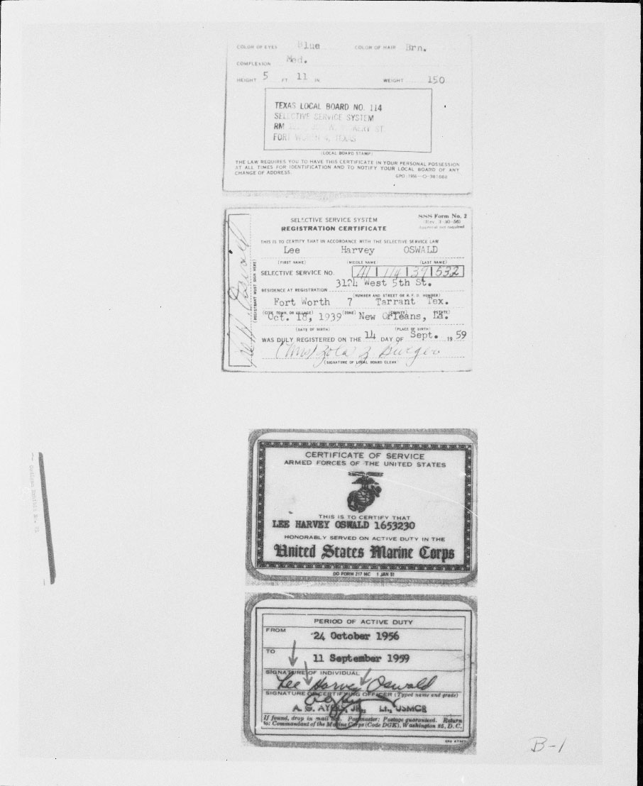 Photos from the JFK Assassination Records Collection
