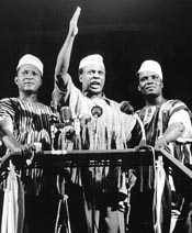 Kwame Nkrumah announces Ghana's independence, 6th March 1957