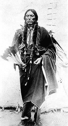 Quanah Parker, photo by Lanney