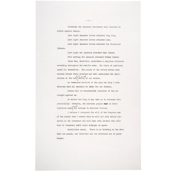 President Franklin D. Roosevelt's