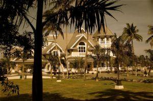 Thompson House in Sepia