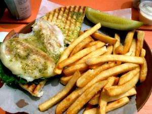 Grilled Chicken Sandwich at Rum Point