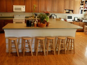 Kitchen Stools Before