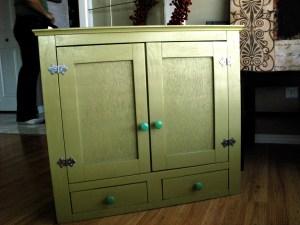 Handmade Bathroom Cupboard