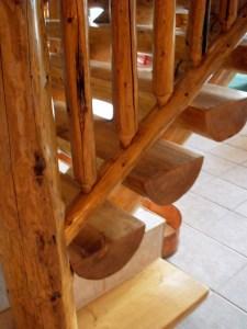 Split Log Staircase