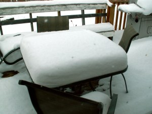 Canadian Snow in April 2009
