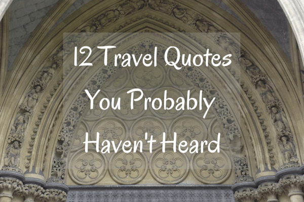 12 Travel Quotes