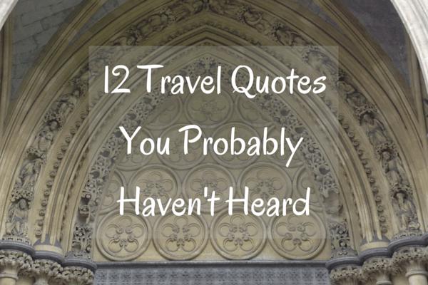 12 Travel Quotes