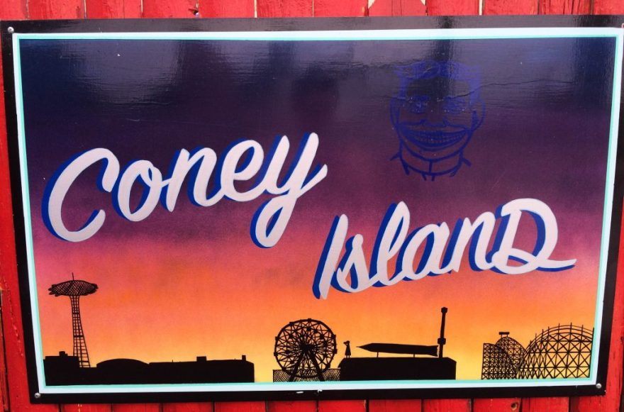 coney island sign