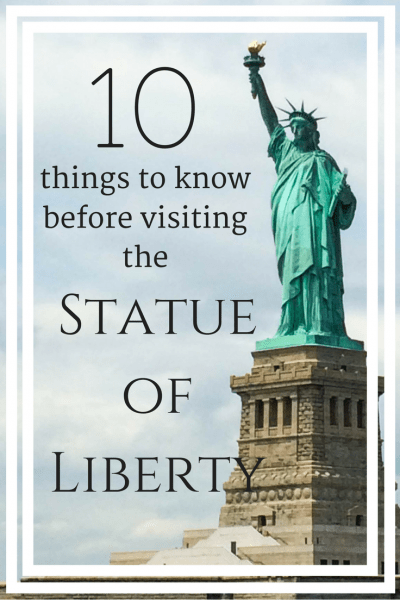 10 things to know before visiting the statue of liberty for Things to do in new york in one day