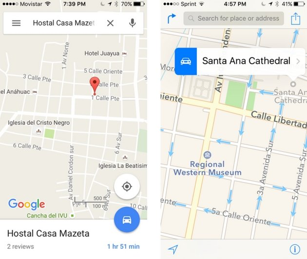Free Travel Apps - Google Maps