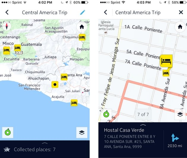 Free Travel Apps - HERE Maps