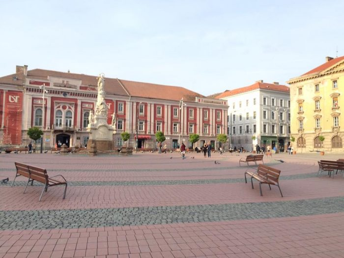 If you want to get off the beaten path in Romania, make a visit to Timisoara.