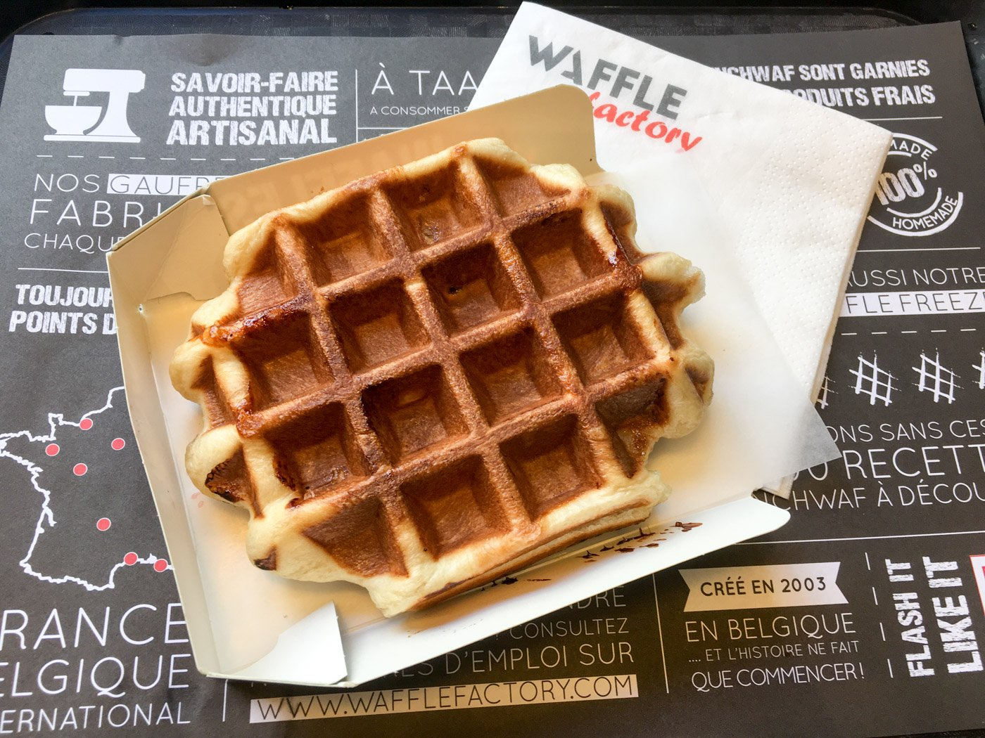 Visiting Belgium and want the inside scoop on Belgian waffles? Check out this article on the best waffles in Brussels, Belgium!