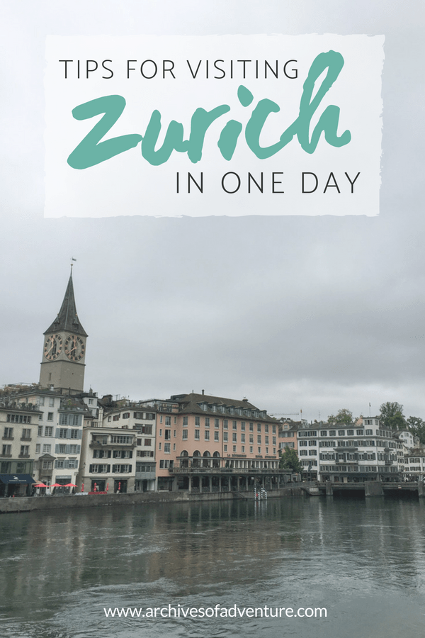 If you're planning your Switzerland travel itinerary and trying to pack everything in, here's a great way to visit Zurich in one day. See all the best highlights of Zurich in 24 hours! #Switzerland #Zurich #EuropeTravel