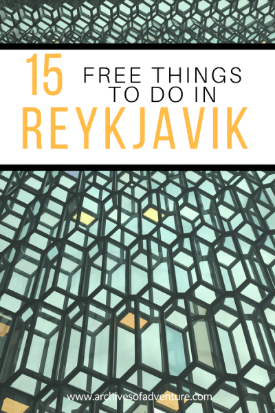 If you're visiting Iceland on a budget and want to spend some time in the city, check out these 15 fun and free things to do in Reykjavik!