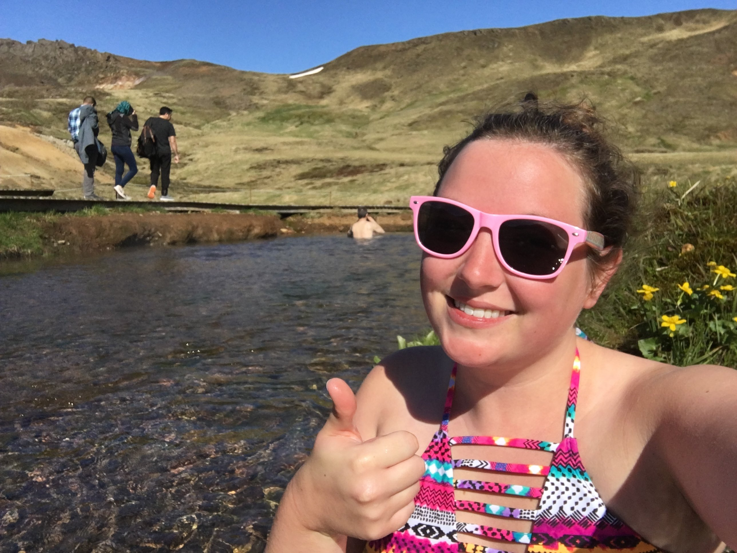 Everything you need to know before visiting Reykjadalur Hot Springs: How to get there, what to bring, what to expect and more!