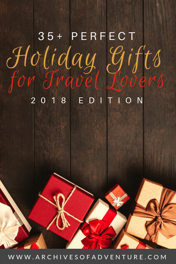 If you're searching for practical and unique gifts for travelers, here are 35+ travel gifts for travel lovers. These products are great travel gifts for women or men! And you'll find that most of them are budget friendly gift ideas! #TravelGifts #TravelGear #GiftGuide #HolidayTravel #GiftIddeas #ChristmasShopping