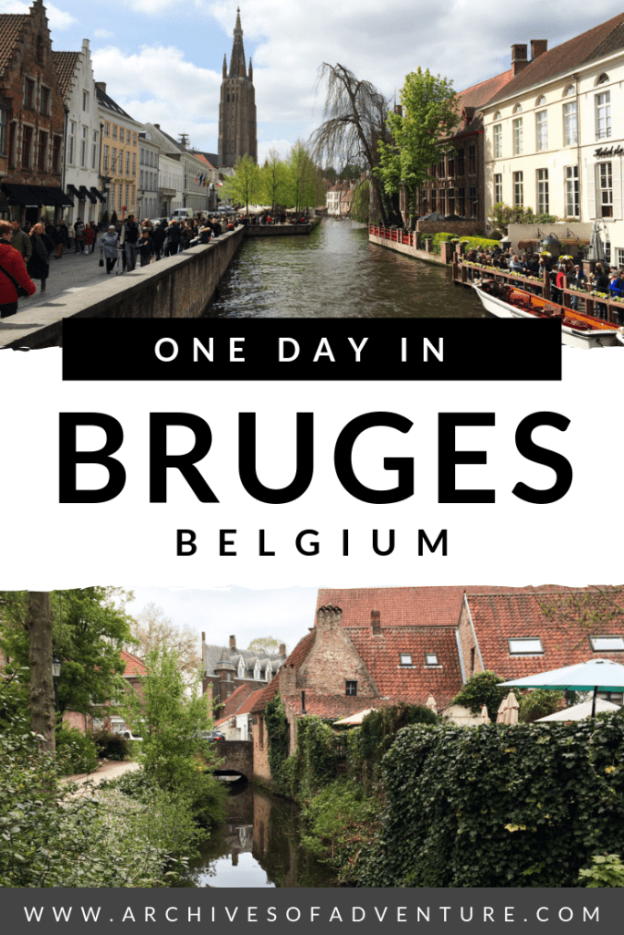 If you're travling in Belgium and looking for a great daytrip from Brussels, you have to visit Bruges, Belgium! One of the top places to visit in Belgium, you'll want to spend a whole day in Bruges! Check out this post for things to do in Bruges, Belgium!