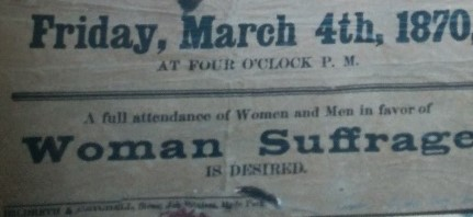 Their Battle for the Ballot: Preserving Hyde Park's History of Women's Activism