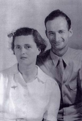 Grace Lonergan with fiancee Lee Lorch in 1943.